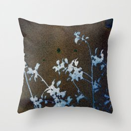Revealed Floral Throw Pillow