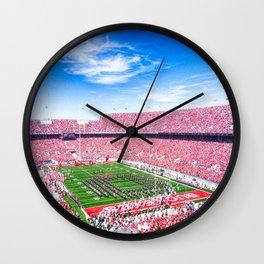 Block O Wall Clock