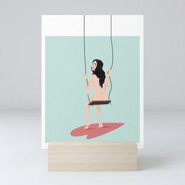swinging Mini Art Print