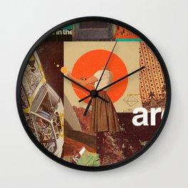 Archival World Wall Clock