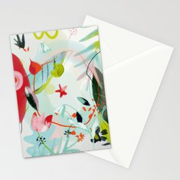 my summer garden Stationery Cards