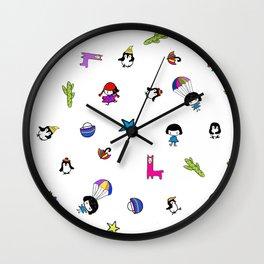 mix patter bluey Wall Clock