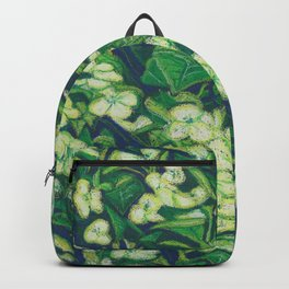 Expressionist Sweet Flowers Backpack