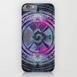 Hunab Ku Mayan Purple and Blues iPhone Case