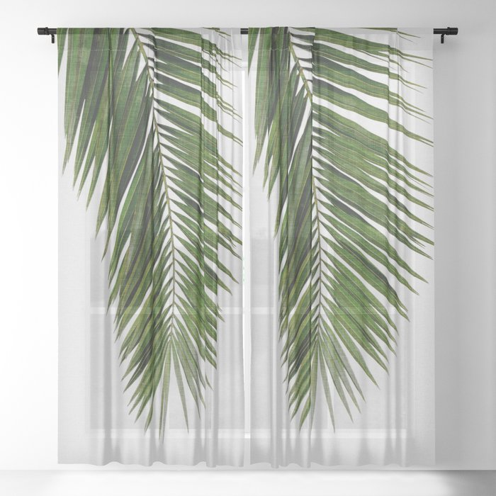 Palm Leaf I Sheer Curtain