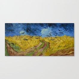 Van Gogh - Wheatfield with Crows Canvas Print