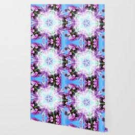 Purple Flower Power Series Wallpaper