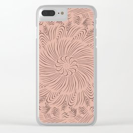 SOS Clear iPhone Case