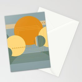 Geo Party #1 Stationery Cards