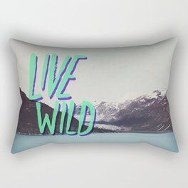 Live Wild: Alaska Rectangular Pillow