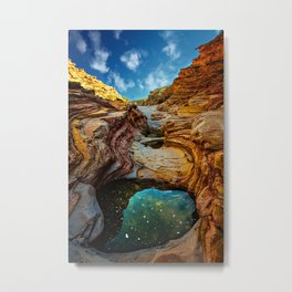 Ernst Canyon, Big Bend Metal Print