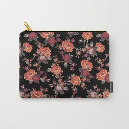 MISTY FLORAL Carry-All Pouch