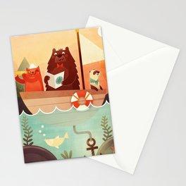 Les 3 Matelots Stationery Cards