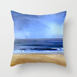 see the sky about to rain Throw Pillow
