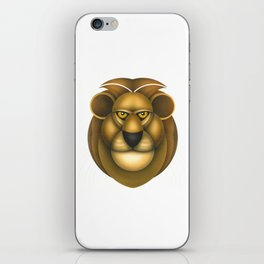 Compasses-lion iPhone Skin