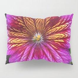 Purple Painted Tongue Pillow Sham