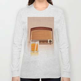 Radio & Whiskey Long Sleeve T-shirt