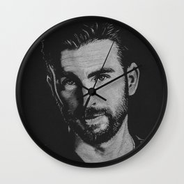 Chris Evans Wall Clock