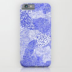 Blue sand iPhone 6s Slim Case