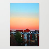 baltimore Canvas Prints featuring Baltimore  by Brooke Armstrong