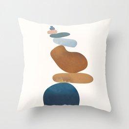 Balancing Stones 30 Throw Pillow