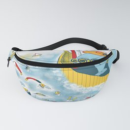 Look, honey!...the humans are migrating again!!! Fanny Pack