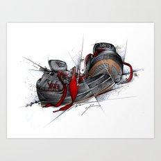 VANS Art Print