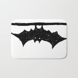 Bat friend Bath Mat