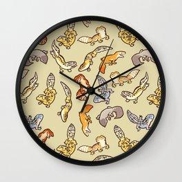 Geckos Wall Clock