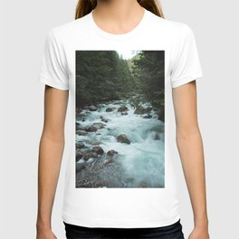 Pacific Northwest River II - Nature Photography T-shirt