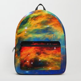 Rainbow Medusa Nebula Backpack