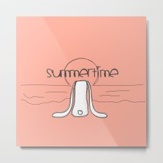 Summertime Metal Print