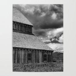 Historic Tate Barn, Midway, Utah Poster