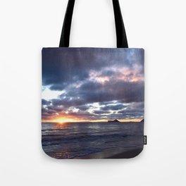 Sunrise in 'Nalo Tote Bag