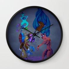 Unfolding a symbolic reality Wall Clock