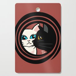 Cool cats Cutting Board