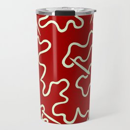 Needle and thread Allover Pattern Travel Mug
