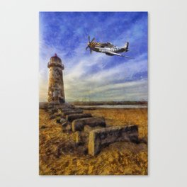 North American P-51 Mustang Canvas Print