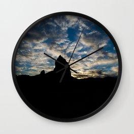 Trona Skies Wall Clock