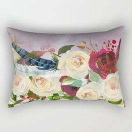 Flowers bouquet 82 Rectangular Pillow