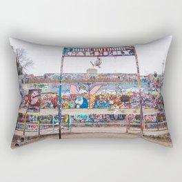 HOPE Outdoor Gallery in Austin Rectangular Pillow