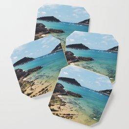 Summer in Donosita San Sebastian Spain Beach Coaster