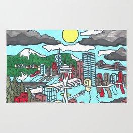 Seattle Daytime Rug