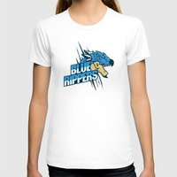 monster hunter T-shirts featuring Monster Hunter All Stars - Blue Rippers by Bleached ink