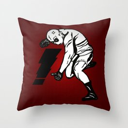 Busted!! Throw Pillow