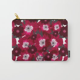 Flowers Overflowing Carry-All Pouch