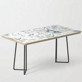 Eucalyptus pattern Coffee Table