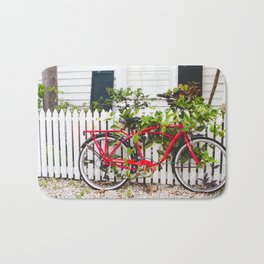 Key West Bike Bath Mat