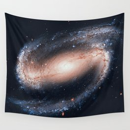 Spiral galaxy in the constellation Eridanus NGC 1300 Wall Tapestry