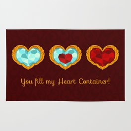 HEART CONTAINER Rug